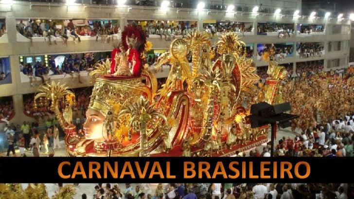 Trabalho de Religião - Carnaval Brasileiro