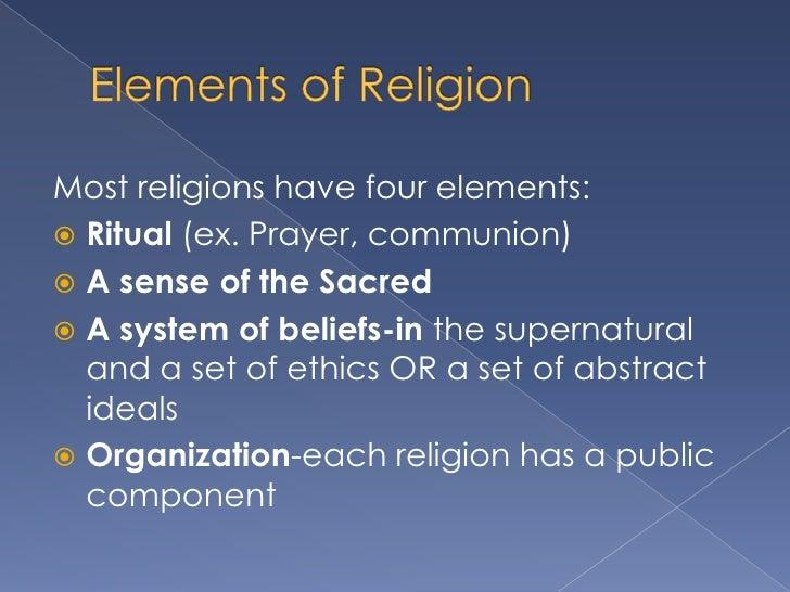 Religion Has A Public Component 6