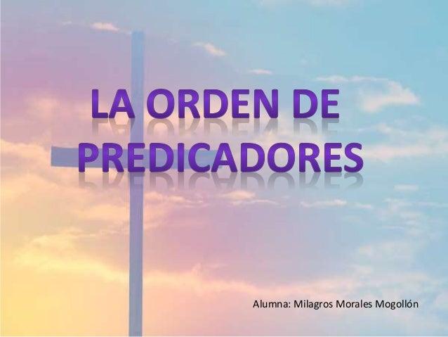 Alumna: Milagros Morales Mogollón