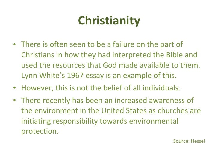 religion and the environment  20
