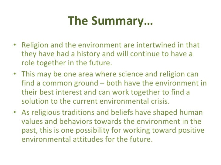 the environment of crisis on the