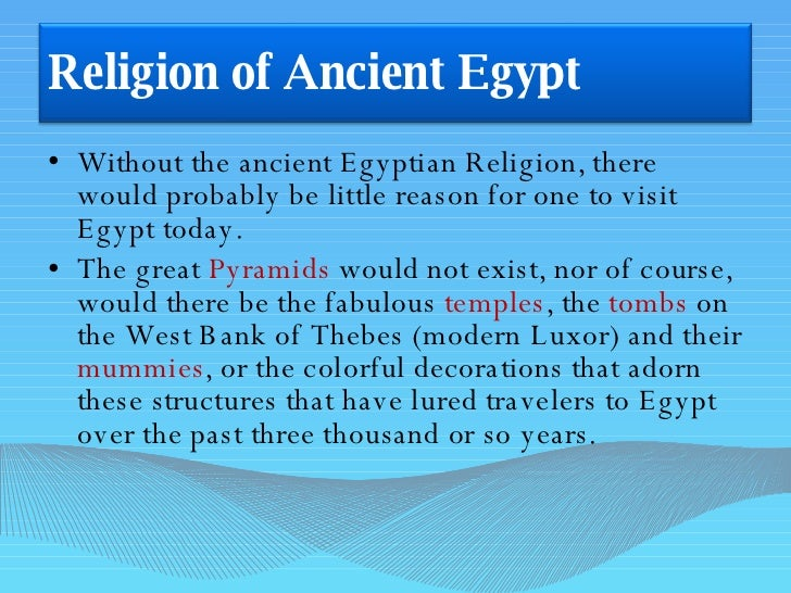 Religions in egypt today