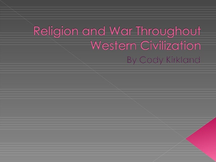  History has shown that religion has been the cause of the majority of our wars, mostly due to the power the church has h...