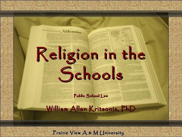 Comunicación y Gerencia                Religion in the                  Schools                                  Public Sc...