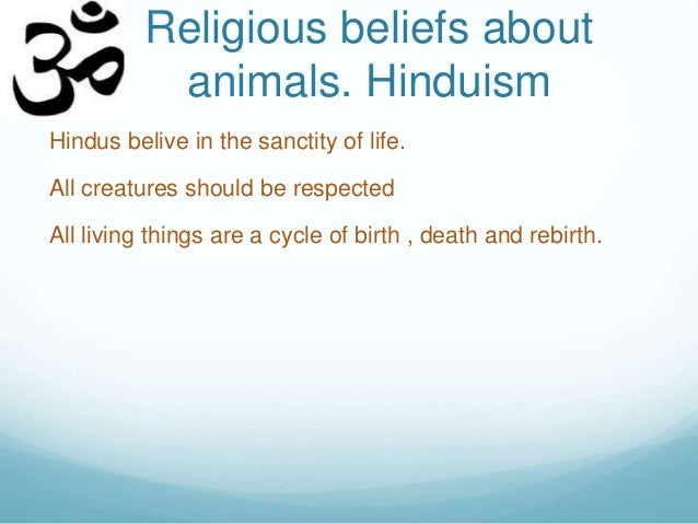 animals and religion In the hindu religion, all animals are considered sacred here we look at the symbolic nature of animals, and their importance in hindu religion.