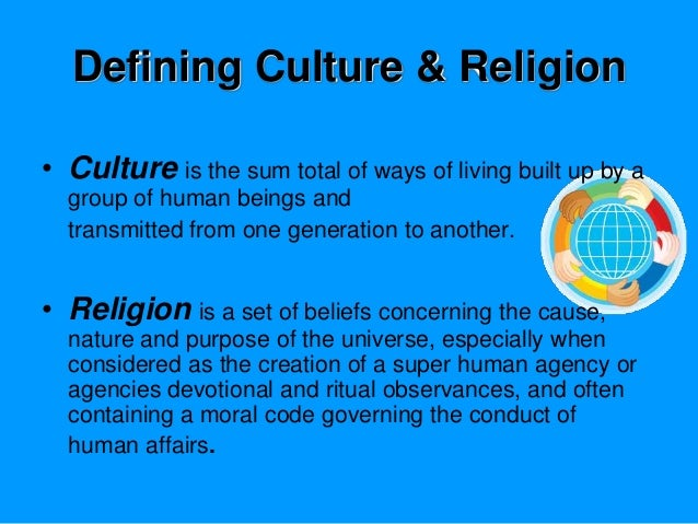 Religion and cultural interaction