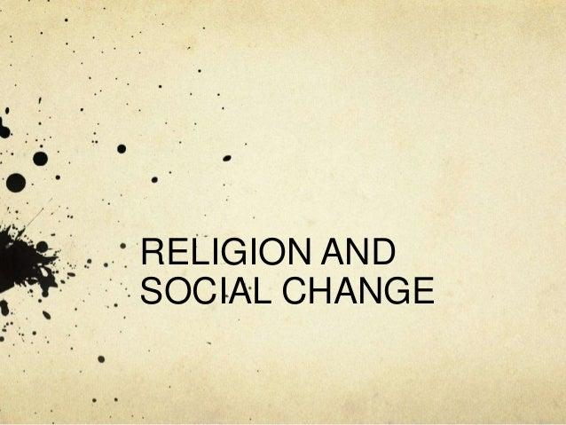 religion on social change essay