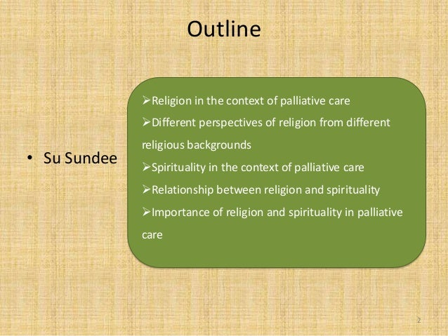 """spirituality and religion in nursing Spirituality, religion and palliative care in the nursing literature we find spirituality defined as """"that which gives meaning to one's life and draws one to."""