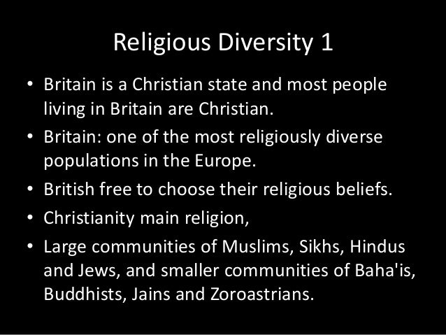 Religion and the church in the uk religious diversity 1 britain altavistaventures Images