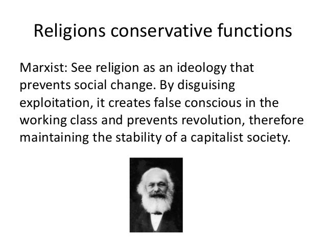 Religion as a conservative force essay