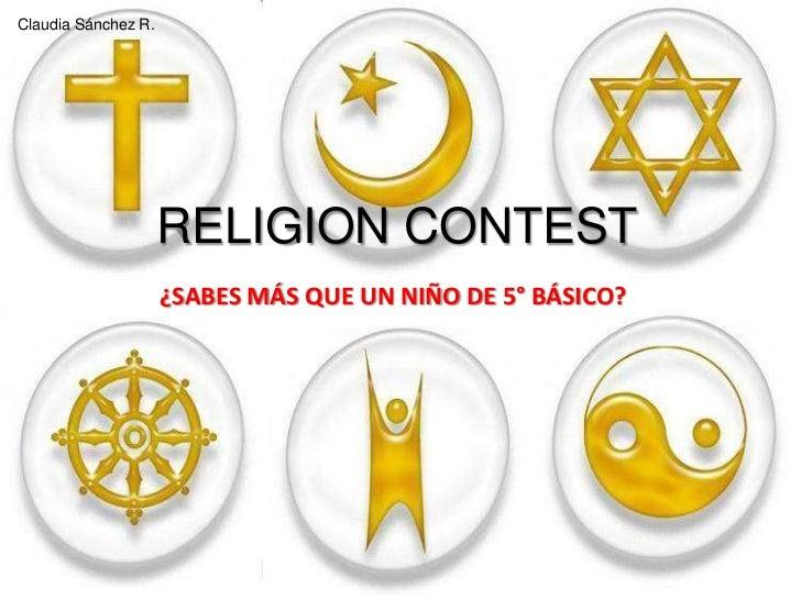 Religion Contest