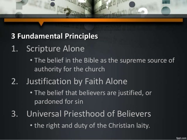 an examination of the core beliefs of the roman catholic church The five solae summarize basic theological differences in opposition to the roman catholic church protestantism is popularly considered to have begun in germany  the movement has.