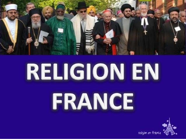 Selon le sondage réalisé parl'institut CSA en 2006-2007,les Français se répartissententre :1.   Catholiques : 51 % contre ...