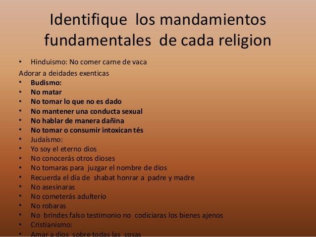 Religiones del mundo - Mandamientos del budismo ...