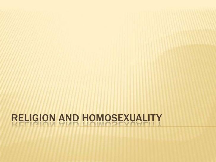 Religion & homosexuality spr11