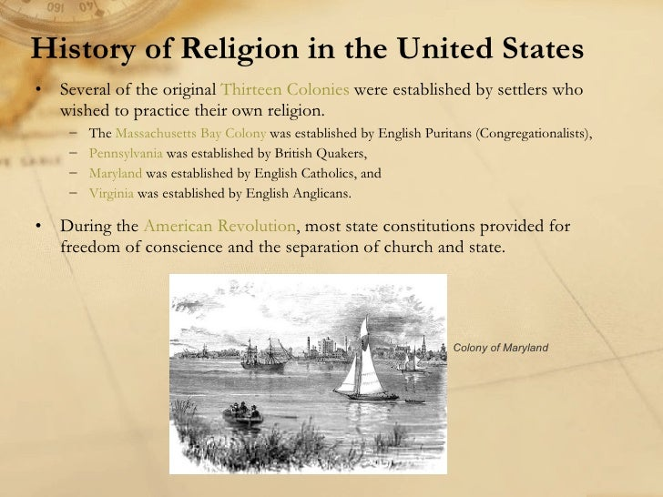 History of religion in the United States