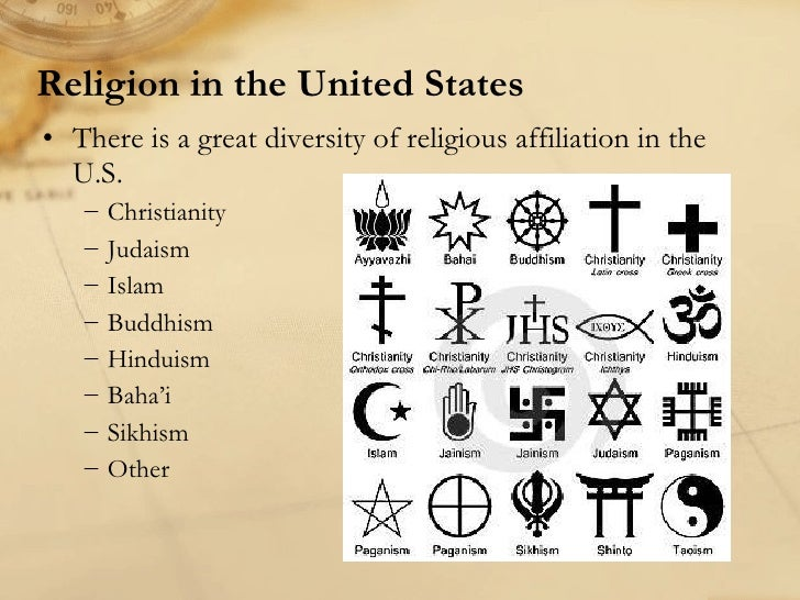 religion in the united states and Religion in the united states is characterized by a diversity of religious beliefs and practices various religious faiths have flourished within the united states.