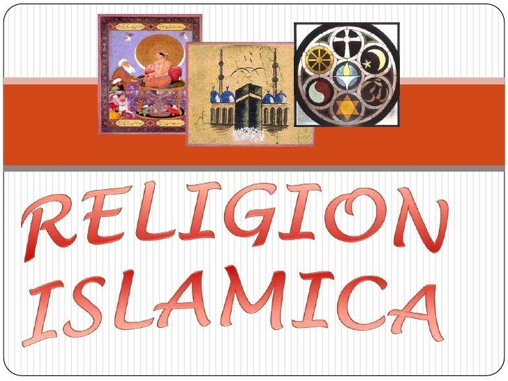 RELIGION ISLAMICA<br />
