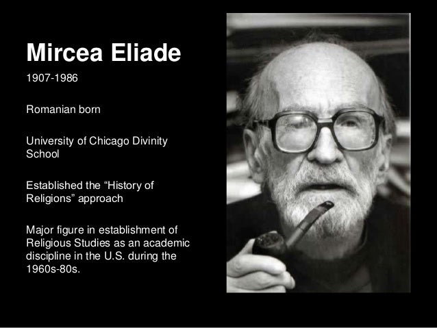 Summary of Sacred Space and Making the World Sacred, Mircea Eliade