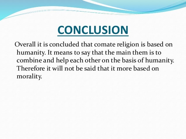 "conclusion on religion ""i came to the conclusion long ago that all religions were true and that also that  all had some error in them, and while i hold by my own religion, i should hold."