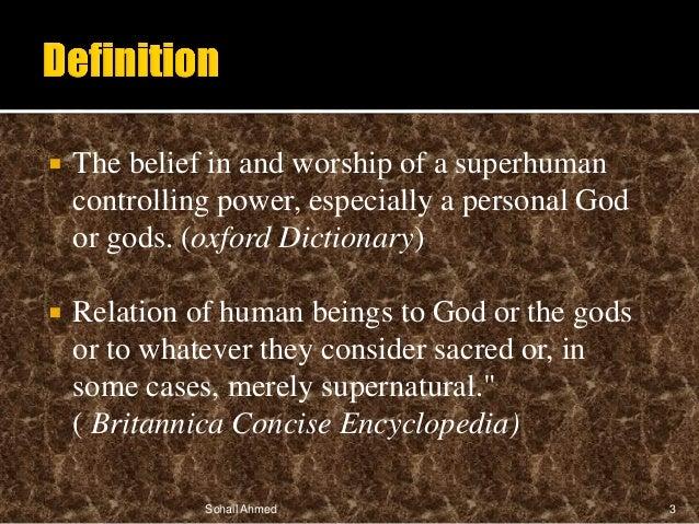 Religion presentation by Sohail Ahmed Slide 3