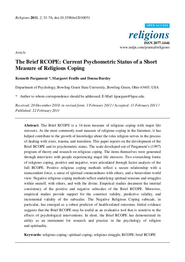 The Brief Rcope