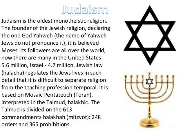 Religions And Beliefs - Monotheistic religions