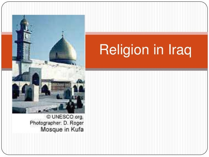 Religion in Iraq<br />