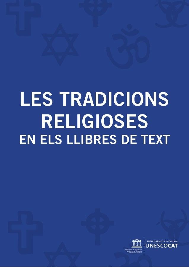 LES TRADICIONS RELIGIOSES EN ELS LLIBRES DE TEXT