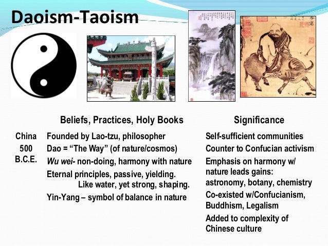 The Religion of China: Confucianism and Taoism