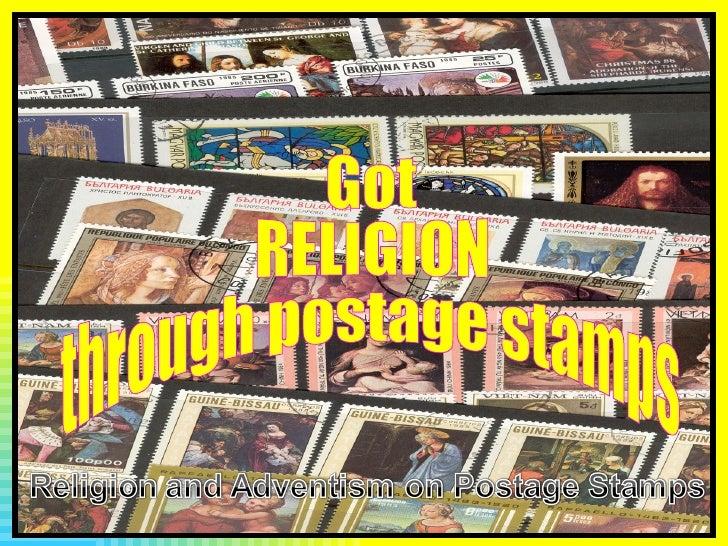 Got RELIGION through postage stamps