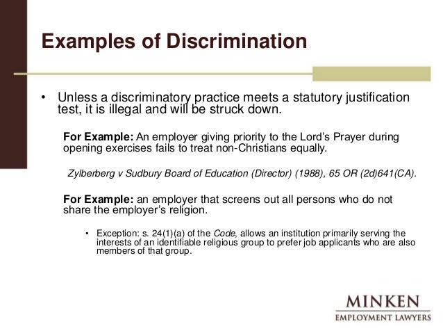 High Quality Examples Of Discrimination In The Workplace. Religious Accomodation In The  Workplace . Examples Of Discrimination In The Workplace Pertaining To Examples Of Discrimination In The Workplace
