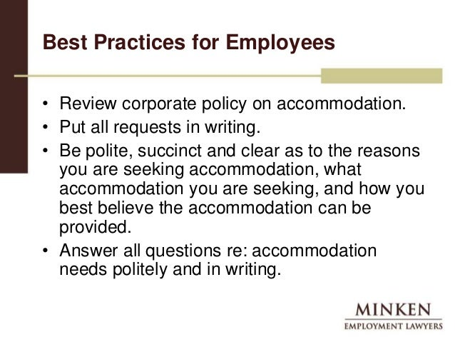 Accommodating Religious Practices in the Workplace