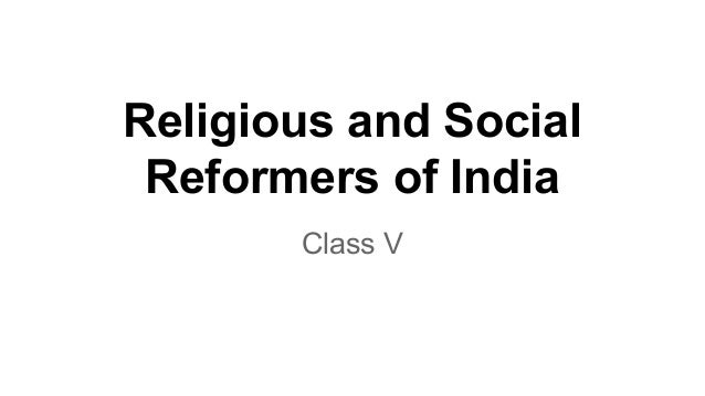 social and religious reforms