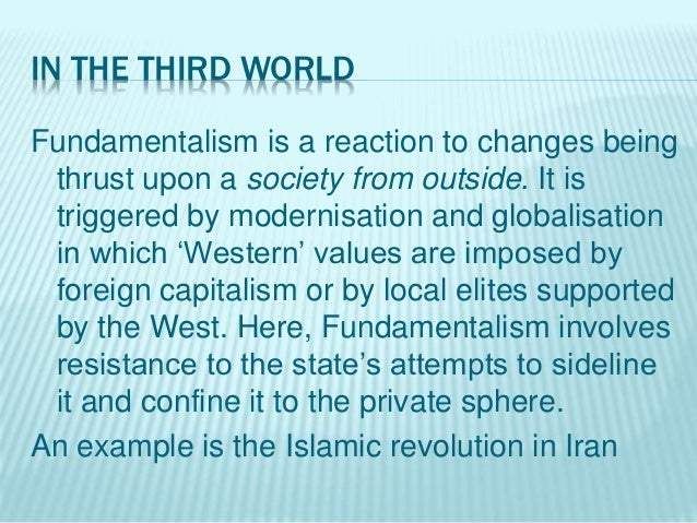 Religious Fundamentalism And Cultural Defence