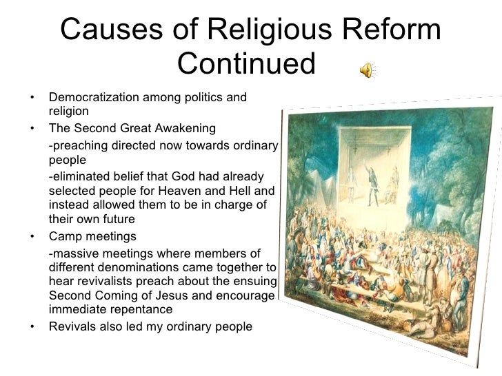 cause and effect of the great awakening The first great awakening also strive to explain the immediate causes of why that skepticism about the social and political effects of colonial.