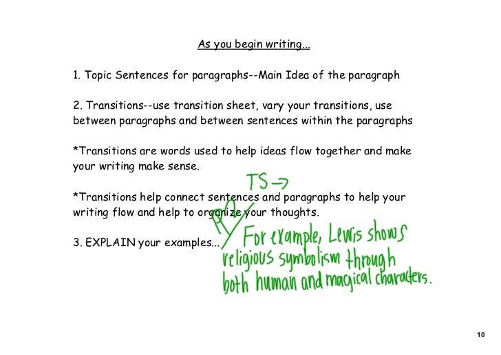 thesis sentences scarlet letter