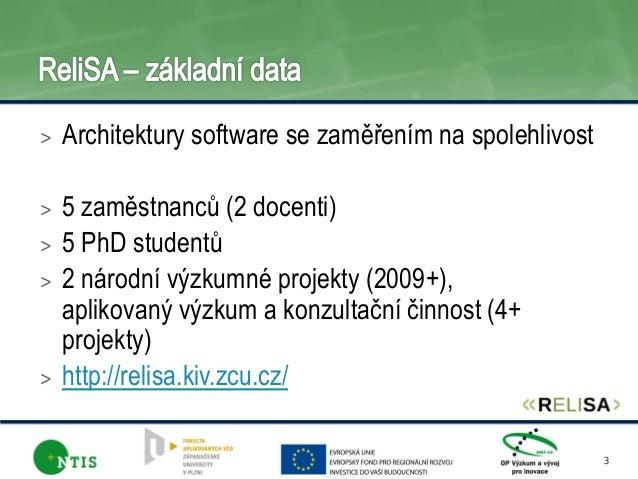 ReliSA KIV hlavni oblasti vyzkumu (2014-01) Slide 2