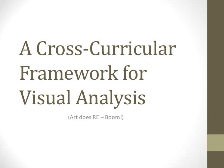 A Cross-CurricularFramework forVisual Analysis     (Art does RE – Boom!)
