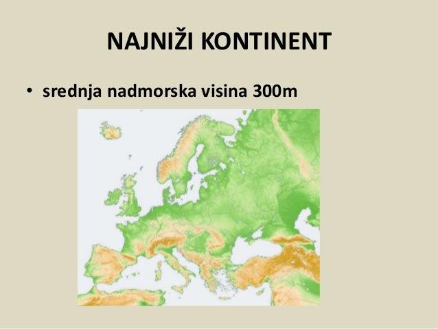 reljef evrope karta Reljef Evrope Tanja Notaroš Gagić reljef evrope karta