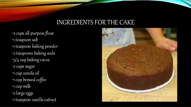 Butter Cake Recipe And Procedure