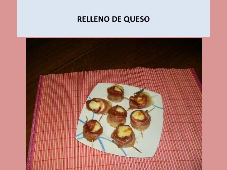 RELLENO DE QUESO
