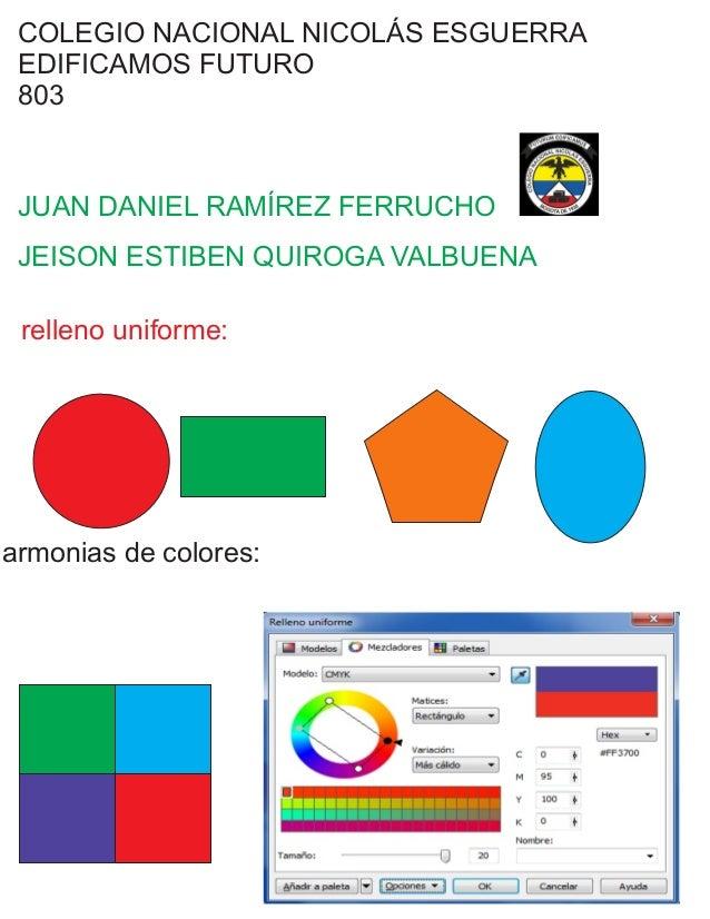 COLEGIO NACIONAL NICOLÁS ESGUERRA EDIFICAMOS FUTURO 803 JUAN DANIEL RAMÍREZ FERRUCHO JEISON ESTIBEN QUIROGA VALBUENA relle...