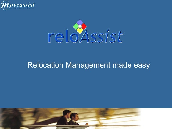 Relocation Management made easy