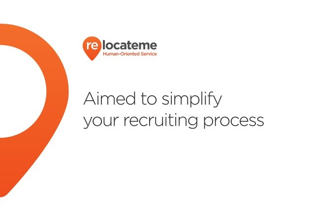 Relocate Me - is the leading recruitment company in Ukraine. Relocate Me specializes in highly qualified professional recru...
