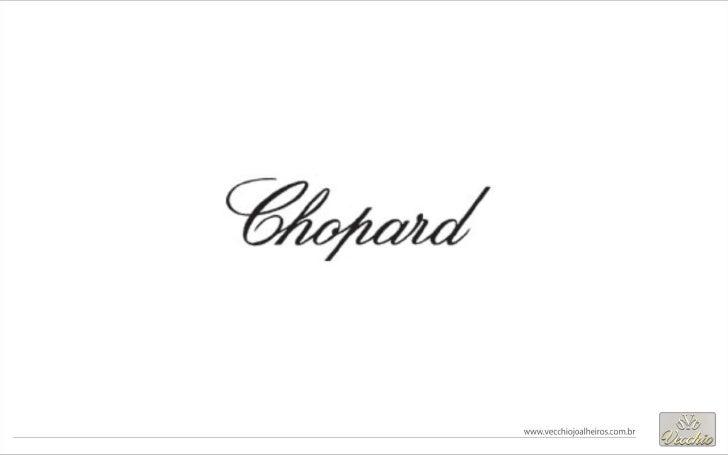Relogios semi-novos Chopard | Vecchio Joalheiros, relogios