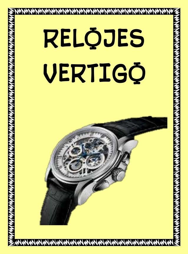 RELOJES VERTIGO