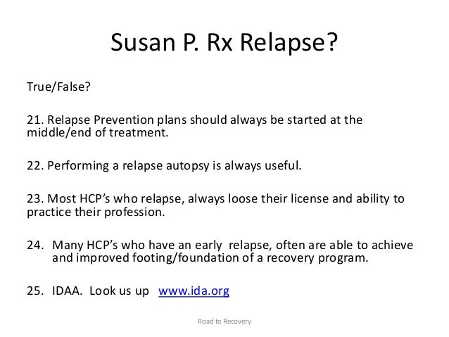 relapse prevention plan template world of letter and template