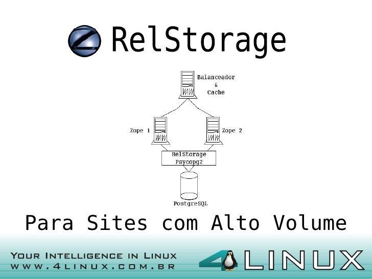 Para Sites com Alto Volume                              1