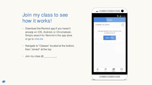 Getting started with Remind